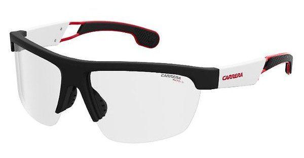 Carrera Eyewear Herren Sonnenbrille » CARRERA 4005/S«, schwarz, 003/W3 - schwarz/rot