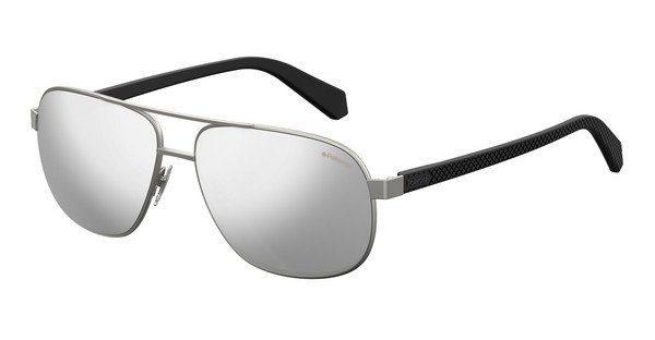 Polaroid Herren Sonnenbrille » PLD 2059/S«, schwarz, 003/M9 - schwarz/grau