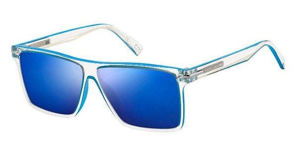 MARC JACOBS Marc Jacobs Herren Sonnenbrille » MARC 222/S«, blau, RHB/XT - blau/blau