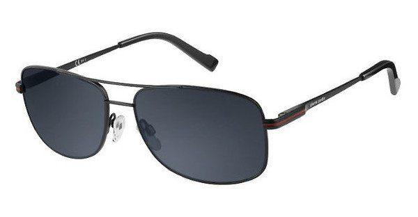 Pierre Cardin Herren Sonnenbrille » P.C. 6839/S«, schwarz, 003/IR - schwarz/grau