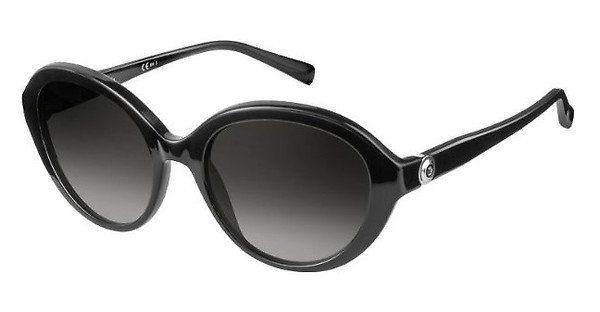 Pierre Cardin Damen Sonnenbrille » P.C. 8455/S«, schwarz, 807/9O - schwarz/grau
