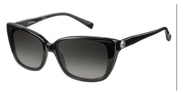 Pierre Cardin Damen Sonnenbrille » P.C. 8456/S«, schwarz, 807/9O - schwarz/grau