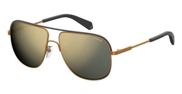 Polaroid Herren Sonnenbrille » PLD 2055/S«, gelb, 210/LM - gelb/ gold