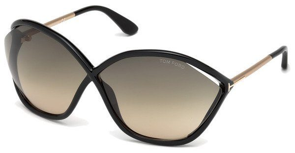 Tom Ford Damen Sonnenbrille »Bella FT0529«, braun, 55B - havana/grau