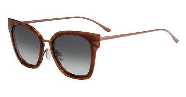 Boss Damen Sonnenbrille » BOSS 0943/S«, weiß, YNA/9O - weiß/grau