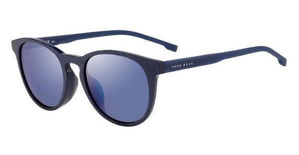 Boss Herren Sonnenbrille » BOSS 0955/F/S«, blau, AVS/XT - blau/blau