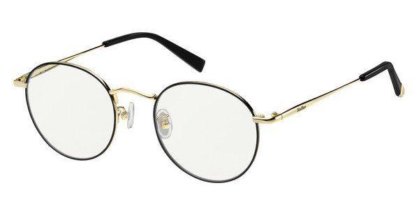 Max Mara Damen Sonnenbrille » MM NEEDLE VIIFS«, schwarz, 2M2/9O - schwarz/grau