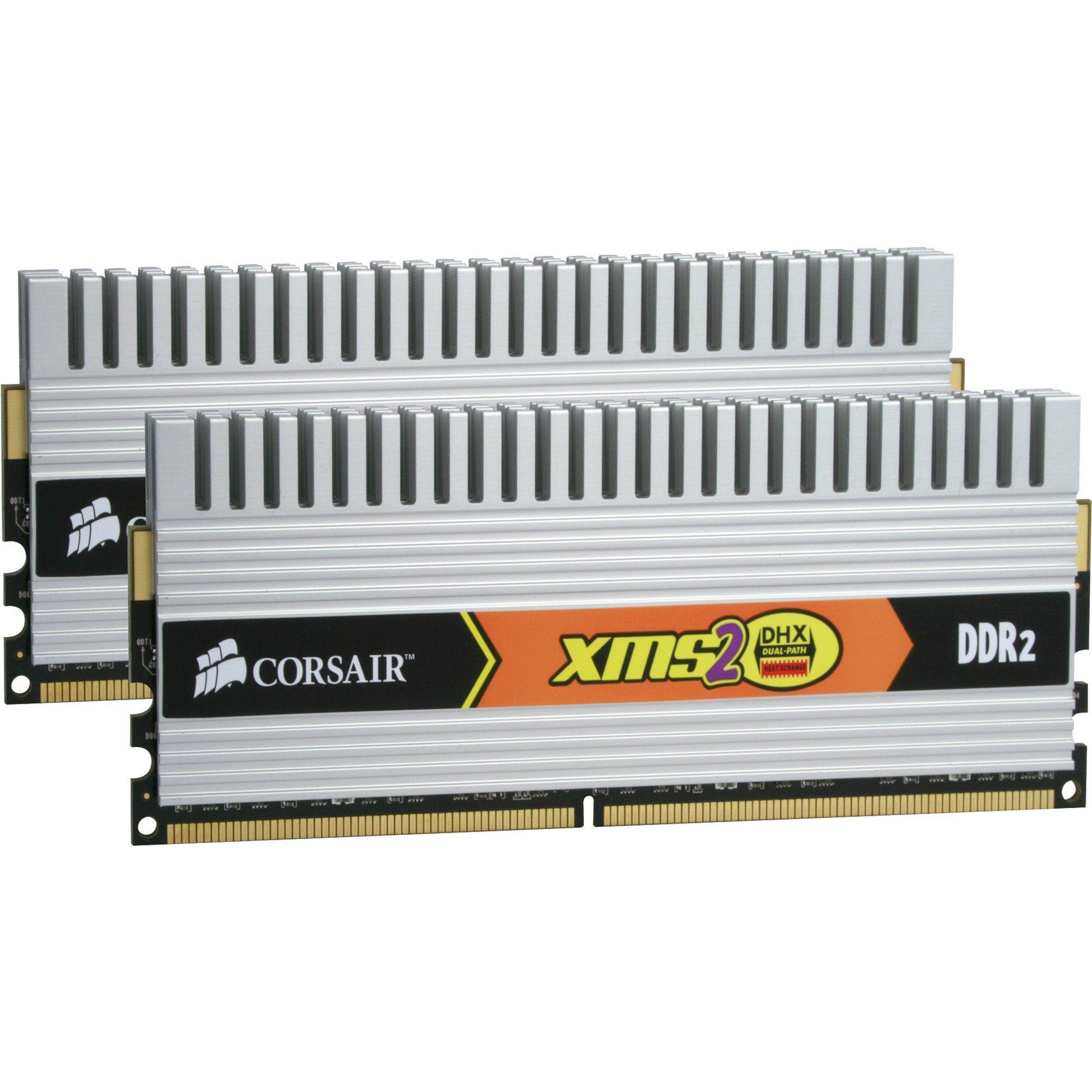Corsair Arbeitsspeicher »DIMM 4 GB DDR2-800 DHX Kit«