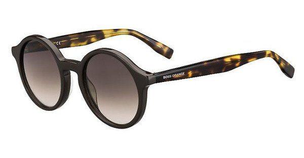 Boss Orange Damen Sonnenbrille » BO 0311/S«, schwarz, 80S/9O - schwarz/grau