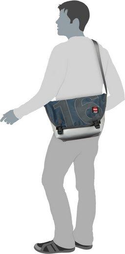 360grad Shoulder Bag Tanker Mini Blue Flap