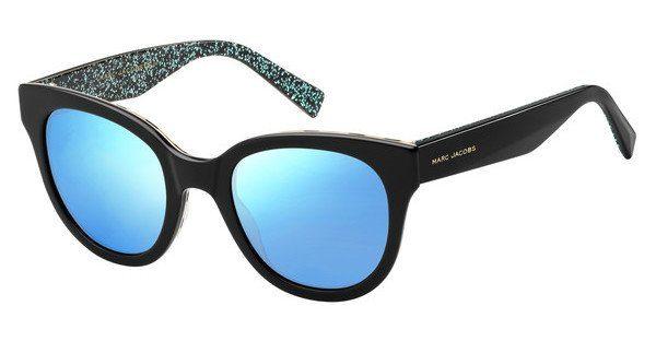 MARC JACOBS Marc Jacobs Damen Sonnenbrille » MARC 231/S«, schwarz, E5K/XT - schwarz/blau