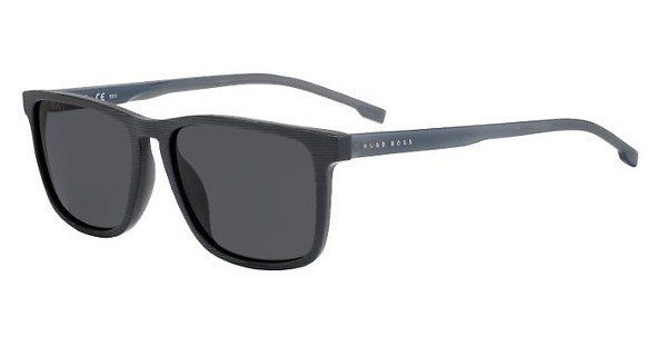 Boss Herren Sonnenbrille » BOSS 0970/S«, grau, FRE/IR - grau/grau