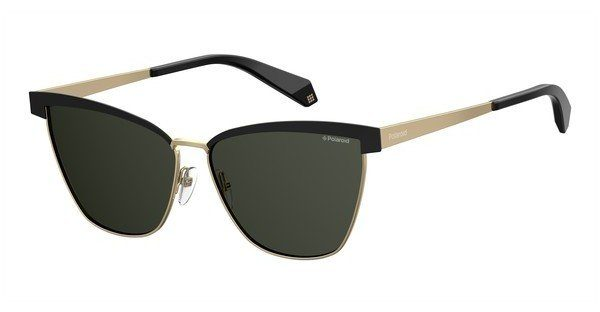 Polaroid Damen Sonnenbrille » PLD 4054/S«, schwarz, 2O5/UC - schwarz/grün