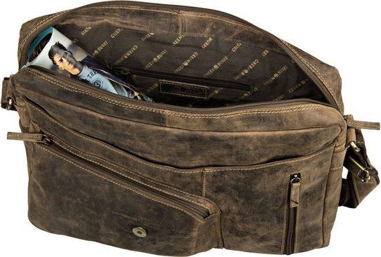 Umhängetasche »vintage Revolver Bag Xl« Greenburry OR8q7xn