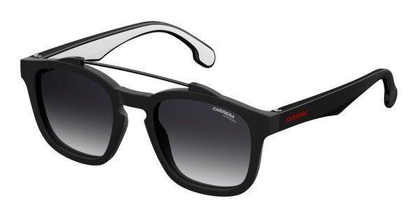 Carrera Eyewear Herren Sonnenbrille » CARRERA 1010/S«, schwarz, 807/9O - schwarz/grau