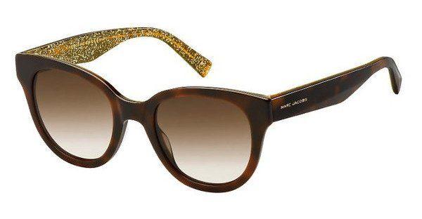 MARC JACOBS Marc Jacobs Damen Sonnenbrille » MARC 231/S«, schwarz, 2PM/VQ - schwarz/rosa