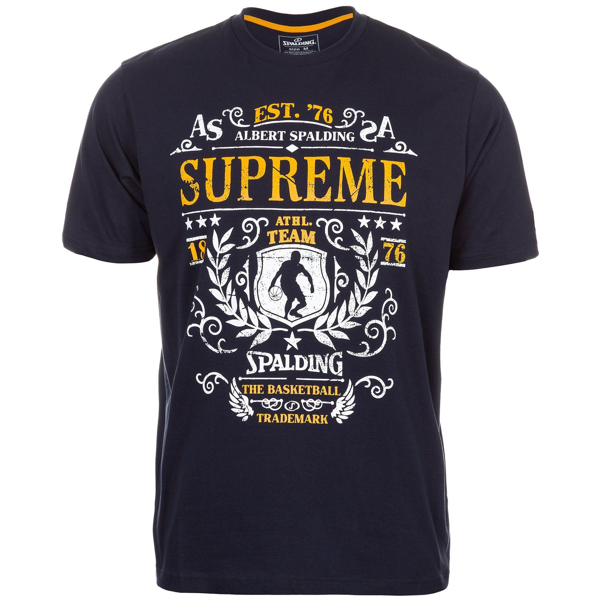 supreme t-shirt herren rot