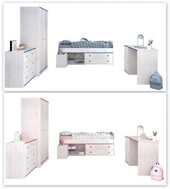 Komplettzimmer - Parisot Jugendzimmer Set »Smoozy«, (Set, 5 St)  - Onlineshop OTTO