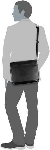 Leonhard Heyden Notebooktasche / Tablet Hannover 4408 Umhängetasche M