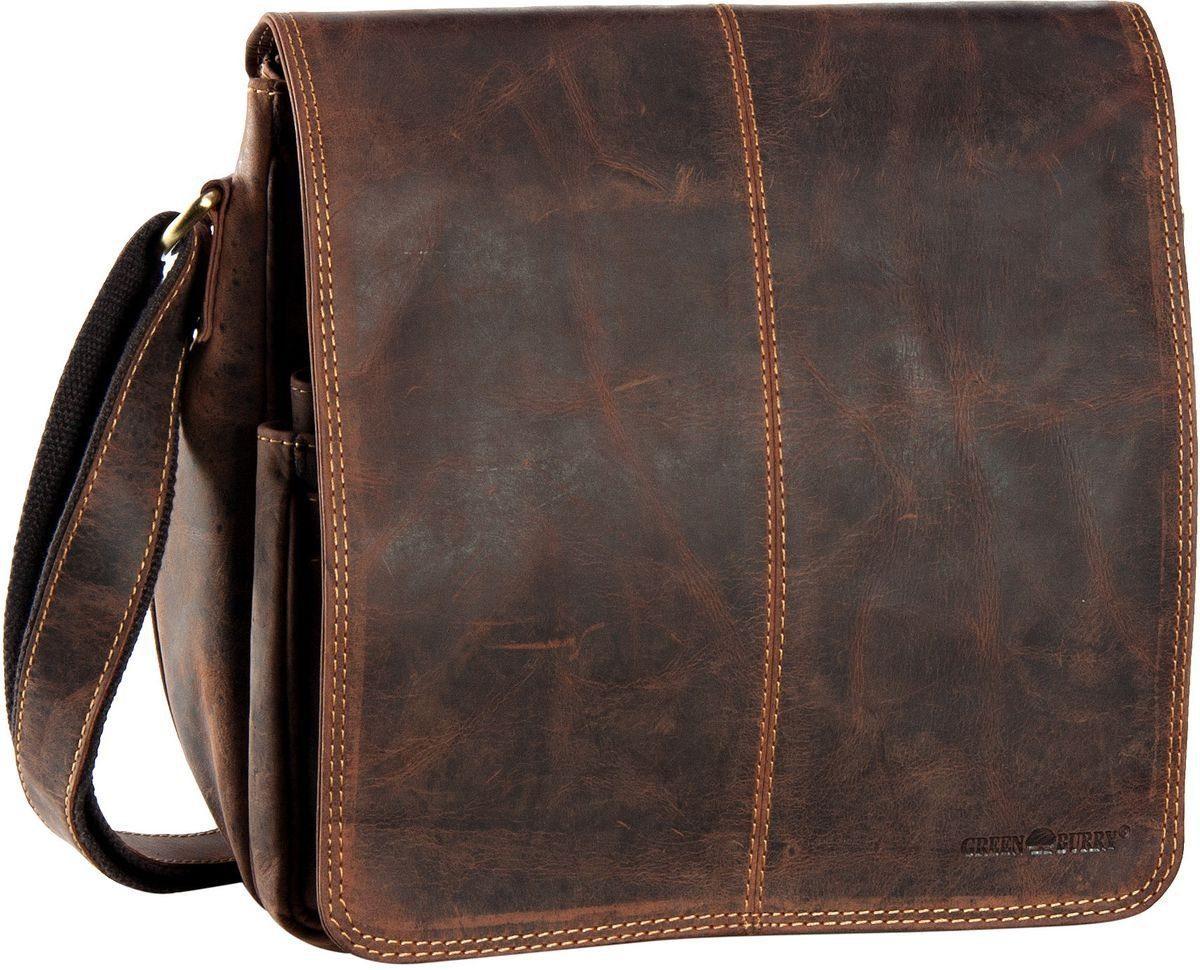Greenburry Umhängetasche »Vintage Überschlagtasche«