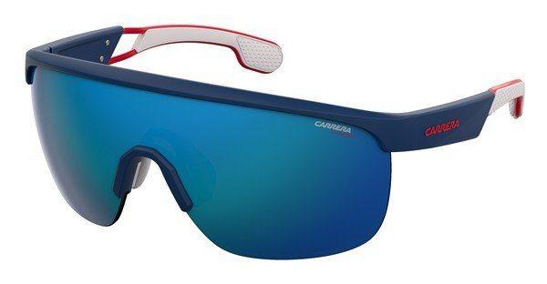 Carrera Eyewear Herren Sonnenbrille » CARRERA 4004/S«, schwarz, 003/W3 - schwarz/rot