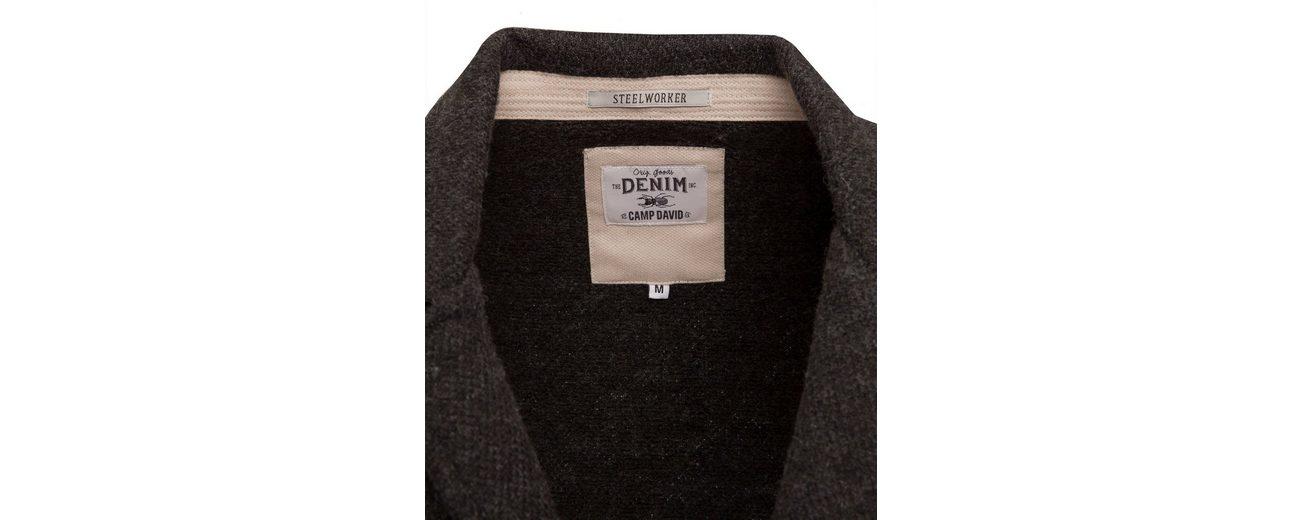 CAMP DAVID Stricksakko Billig Gutes Verkauf Eastbay Online Aus Deutschland b8CTqDu4l