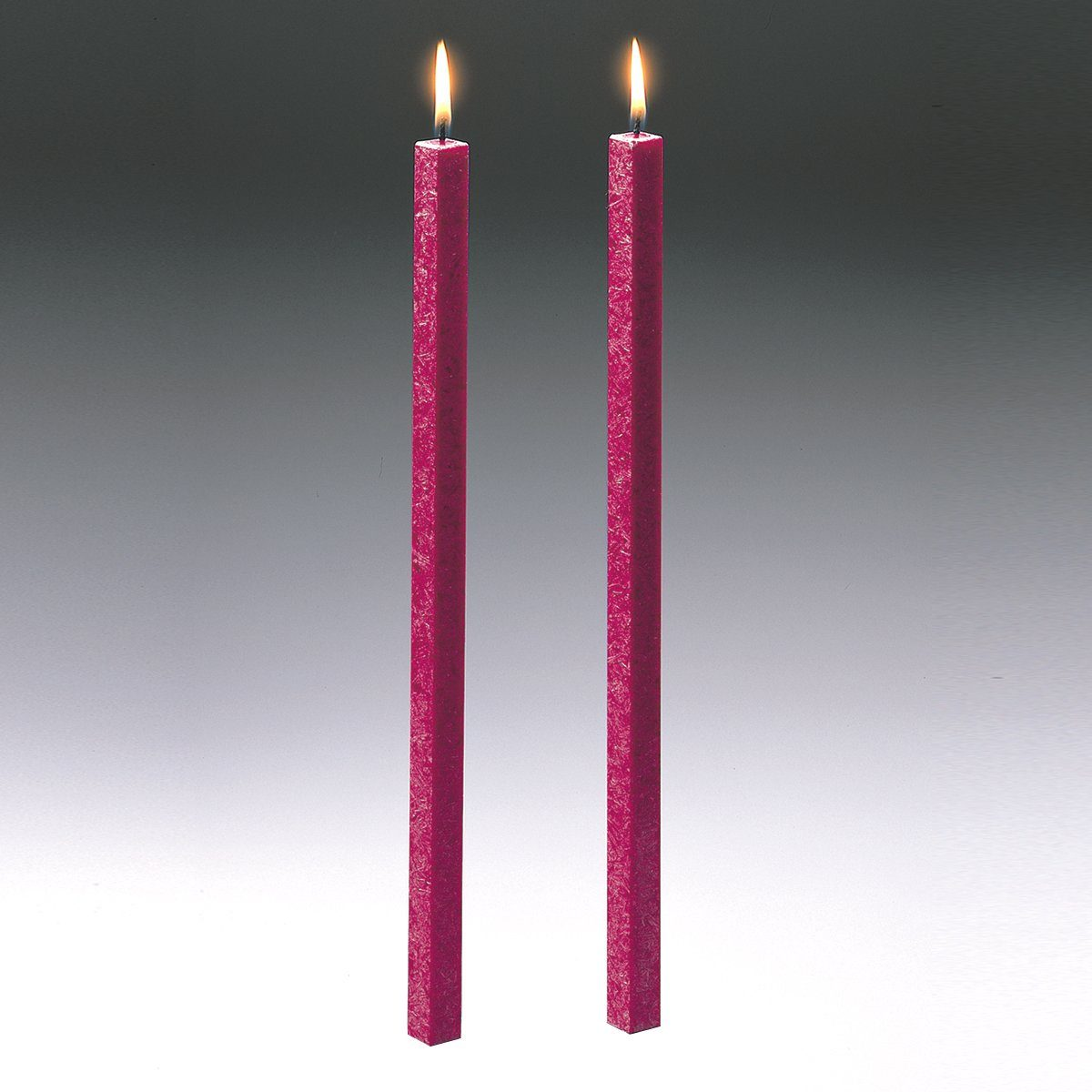 Amabiente Amabiente Kerze CLASSIC fuchsia 40cm - 2er Set