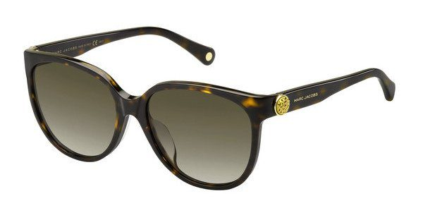 MARC JACOBS Marc Jacobs Damen Sonnenbrille » MARC 92/F/S«, schwarz, 807/NR - schwarz