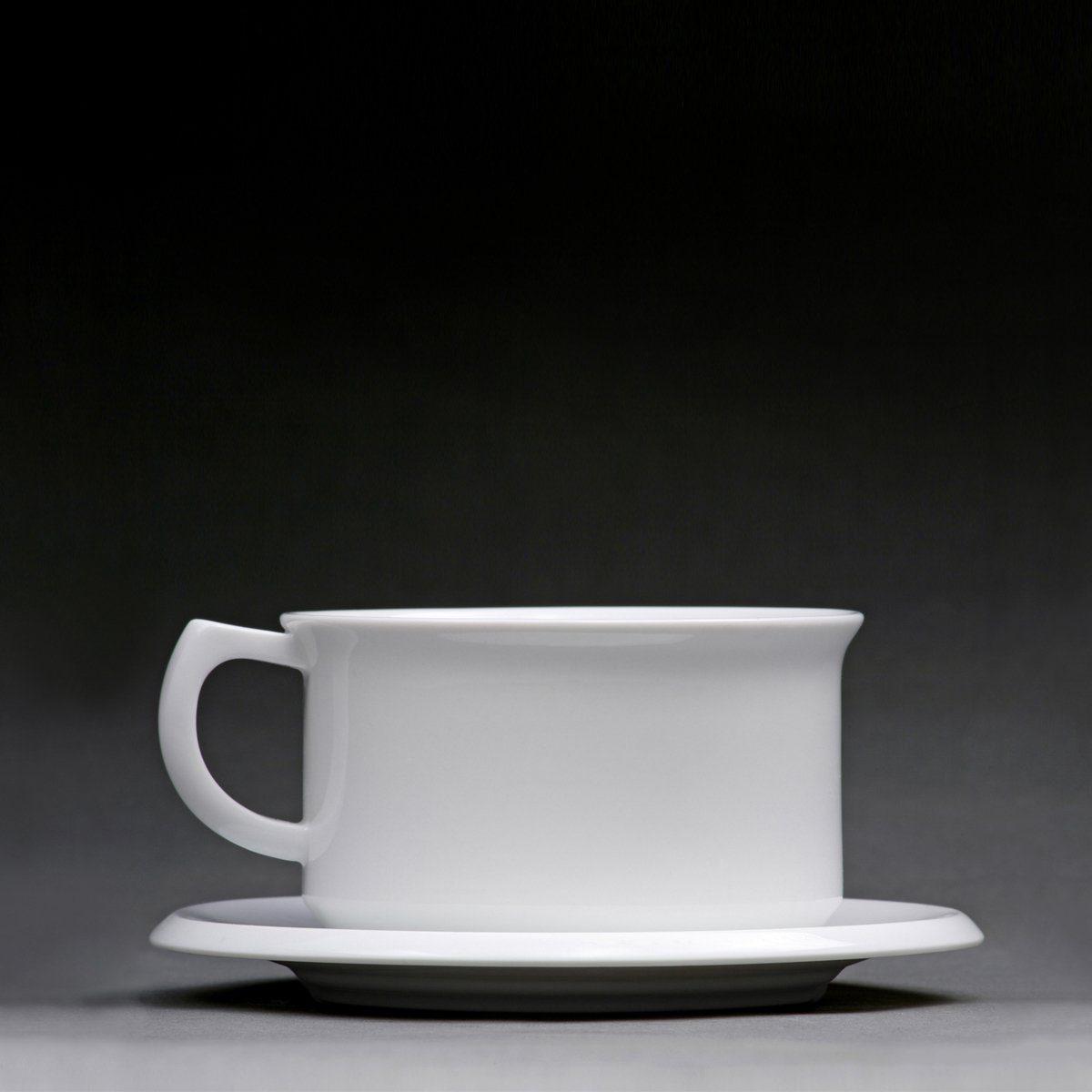 Sowden Sowden Cafe Latte Tasse mit Untertasse OSKAR