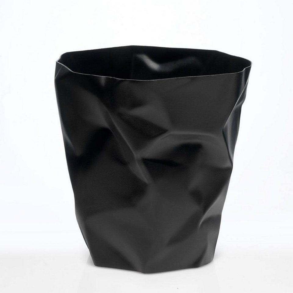 klein und more essey papierkorb bin bin schwarz otto. Black Bedroom Furniture Sets. Home Design Ideas