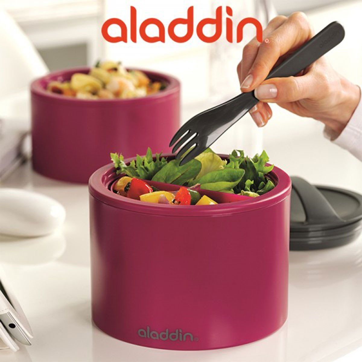 aladdin Aladdin Bento Lunchbox 0.95l, berry