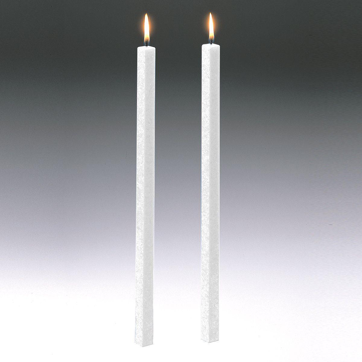 Amabiente Amabiente Kerze CLASSIC weiß 40cm - 2er Set