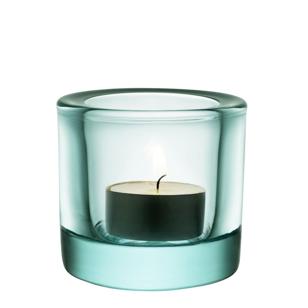 IITTALA Iittala Teelichthalter KIVI wassergrün 6 cm