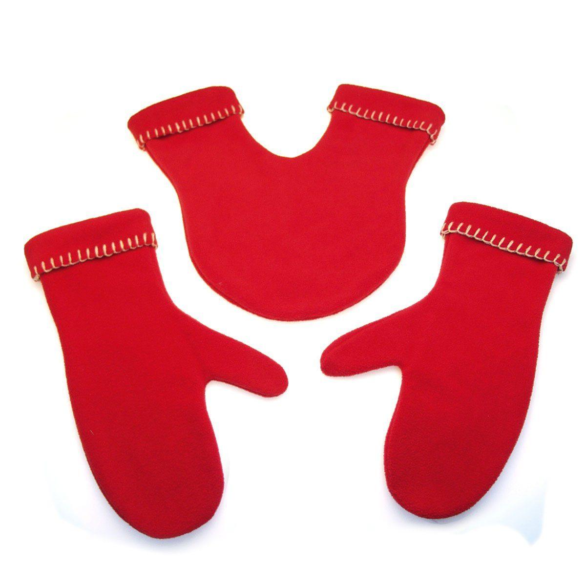 Radius Radius Handschuhe GLOVERS rot