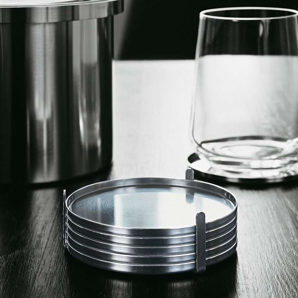 stelton stelton glasuntersetzer 6er set kaufen otto. Black Bedroom Furniture Sets. Home Design Ideas