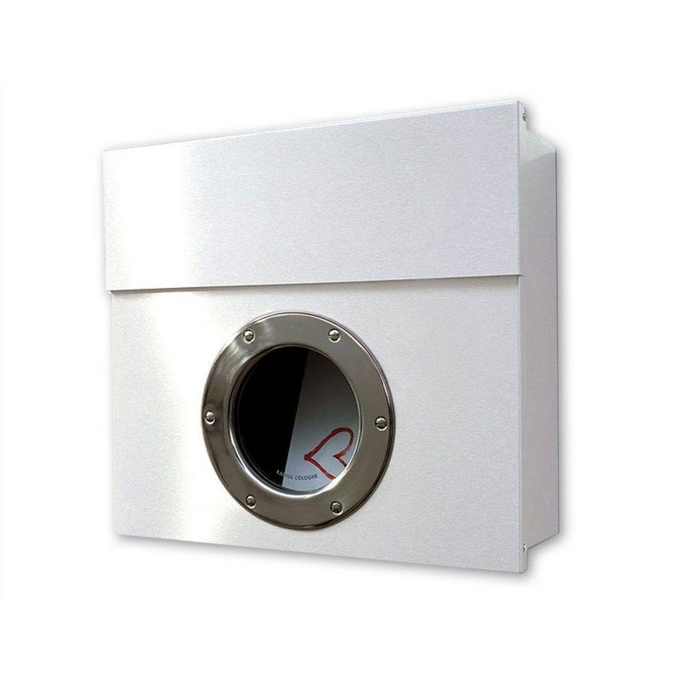 Briefkasten Radius radius radius briefkasten letterman i weiß kaufen otto