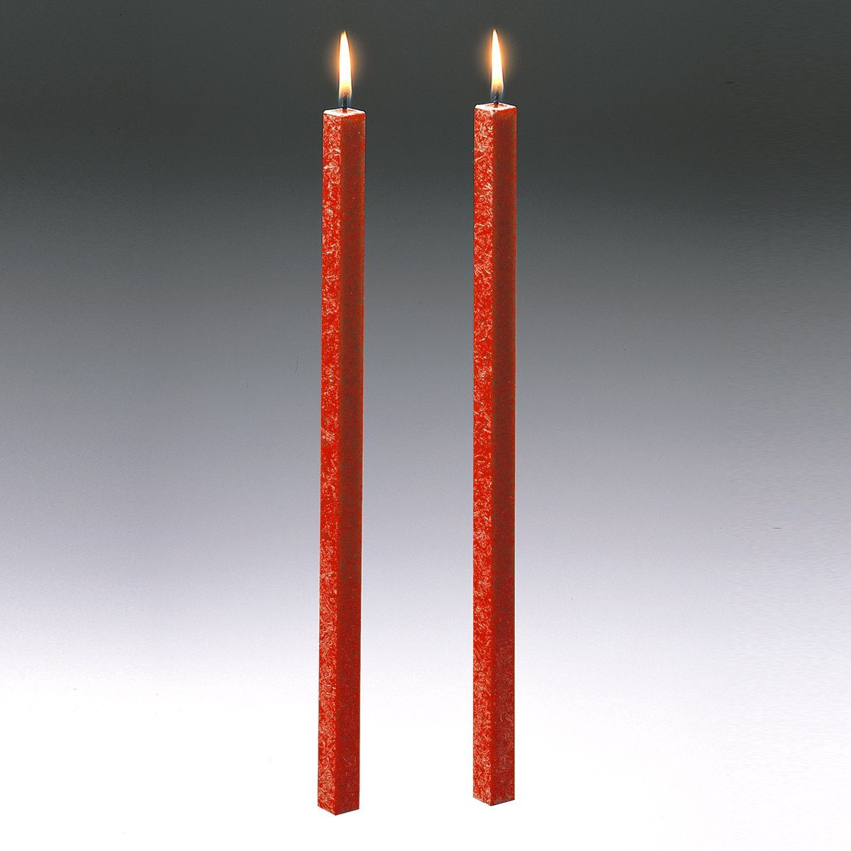Amabiente Amabiente Kerze CLASSIC koralle 40cm - 2er Set