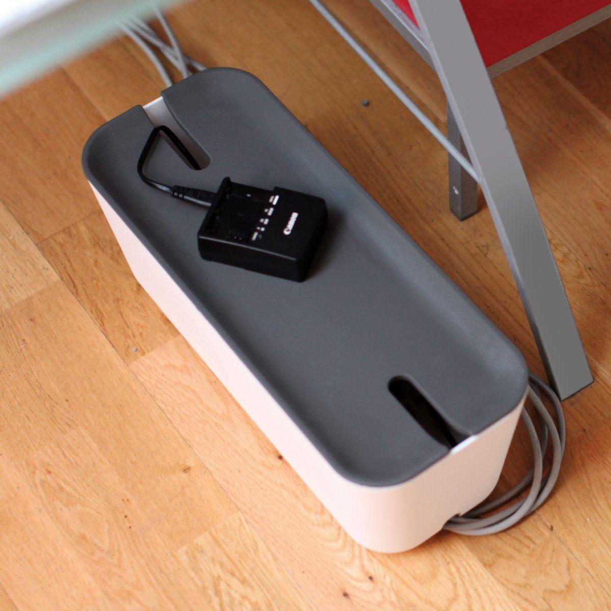 BOSIGN Bosign Kabelbox HIDEAWAY XL weiß-dunkelgrau