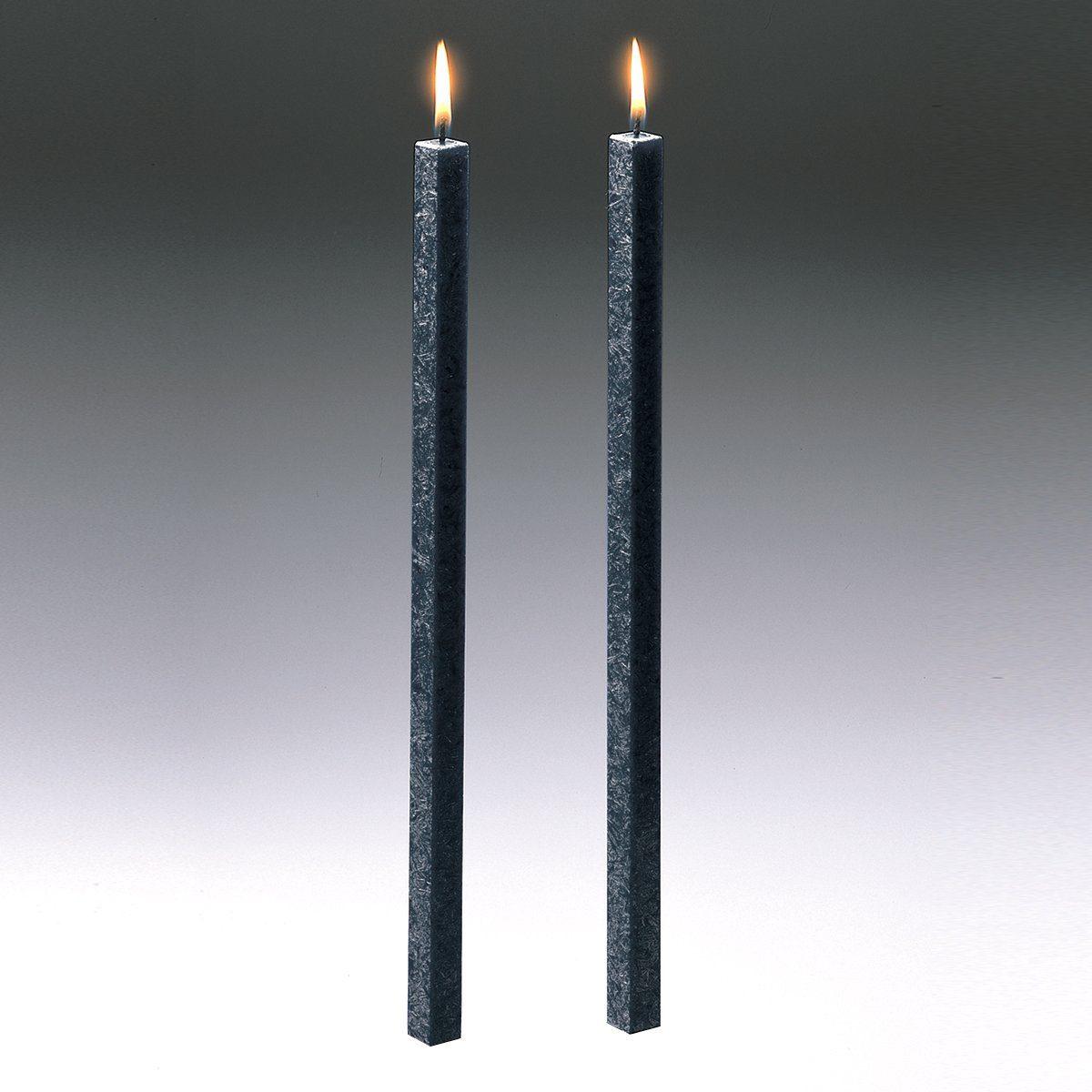 Amabiente Amabiente Kerze CLASSIC anthrazit 40cm - 2er Set