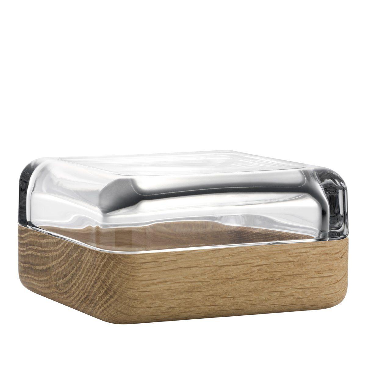 IITTALA Iittala VITRIINI Glasbox 10.8 cm klar/Eiche