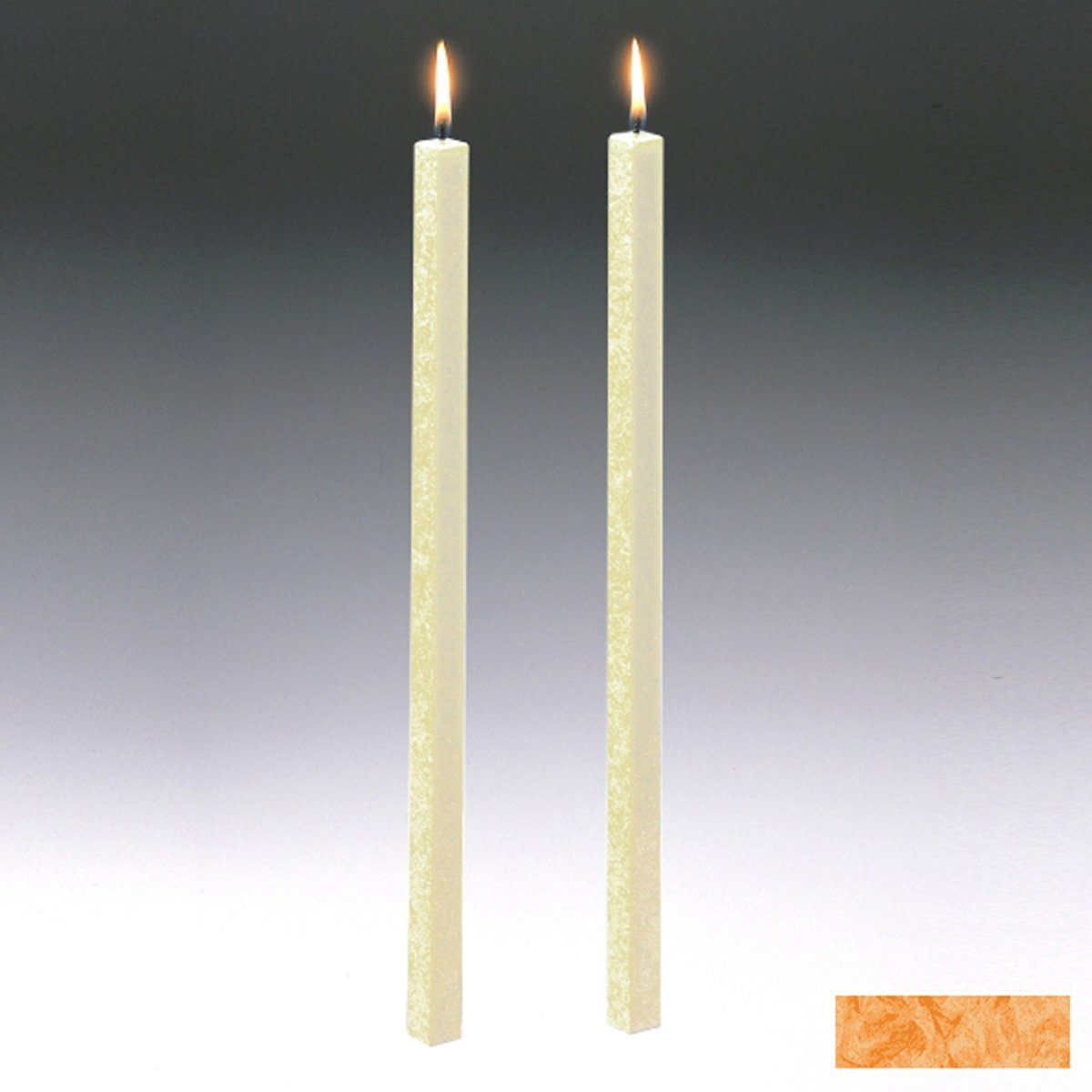 Amabiente Amabiente Kerze CLASSIC Aprikose 40cm - 2er Set