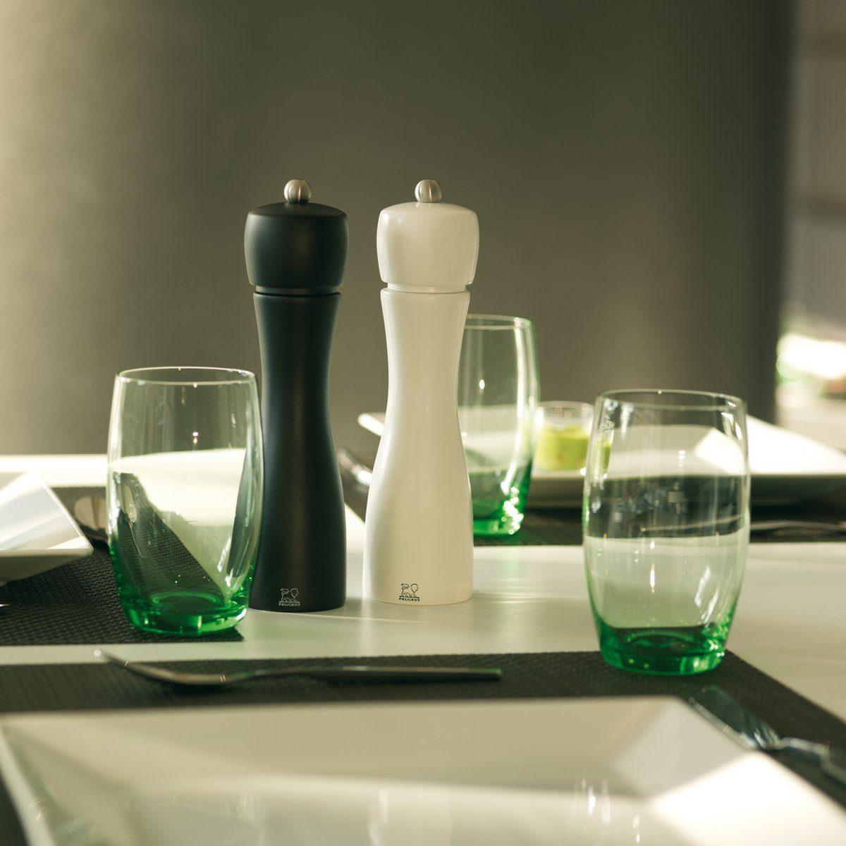 PEUGEOT Peugeot Salz- und Pfeffermühle TAHITI DUO schwarz-weiß 20cm