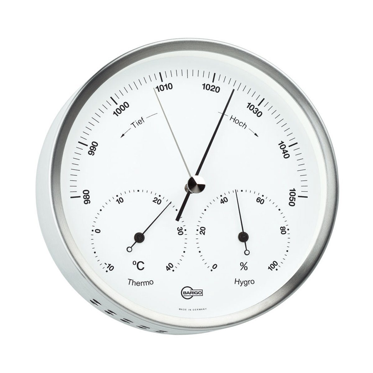 BARIGO Barigo Wetterstation Baro- Thermo- Hygrometer 13cm