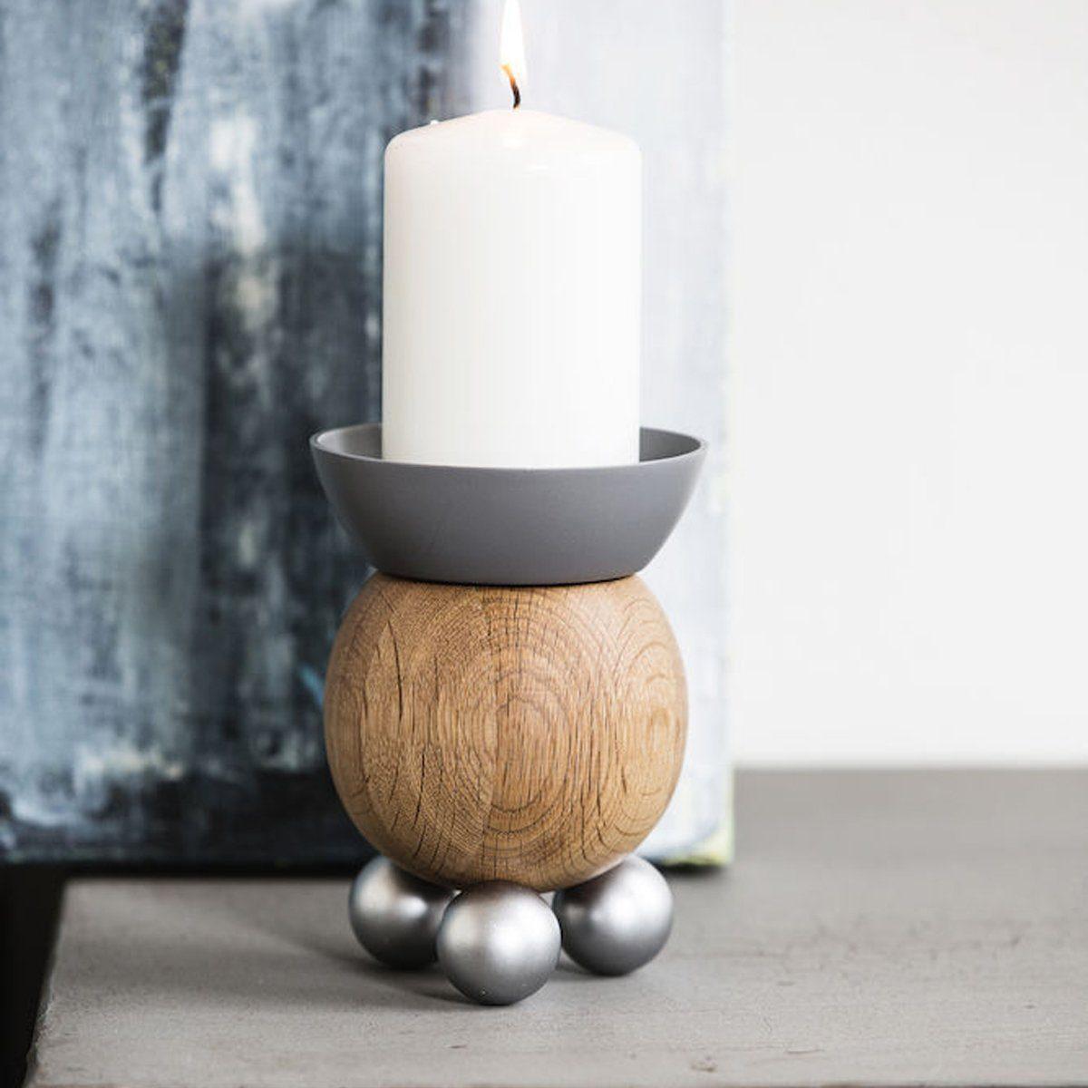 Sagaform Kerzenhalter Oval Oak