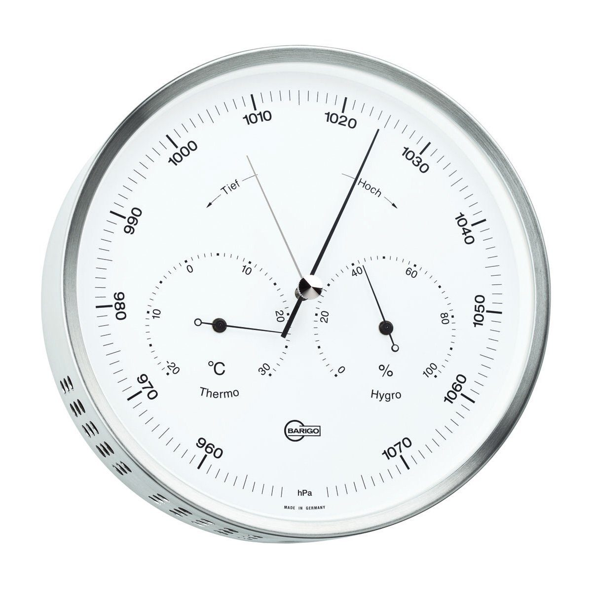 Barigo Barigo Wetterstation Baro- Thermo- Hygrometer 16cm