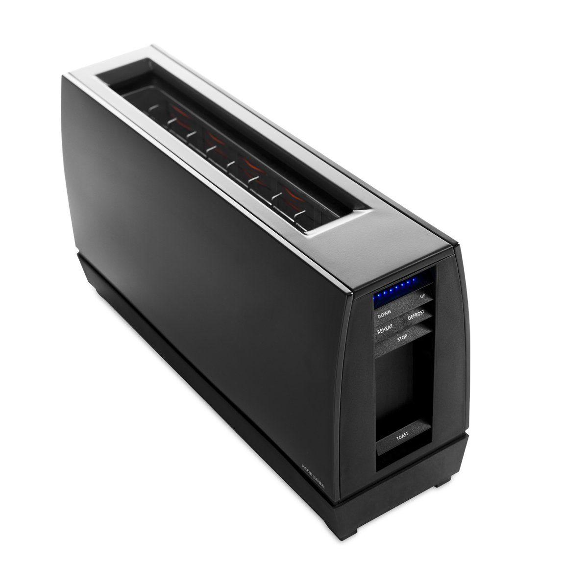 Jacob Jensen Jacob Jensen One Slot Toaster Alu mattschwarz