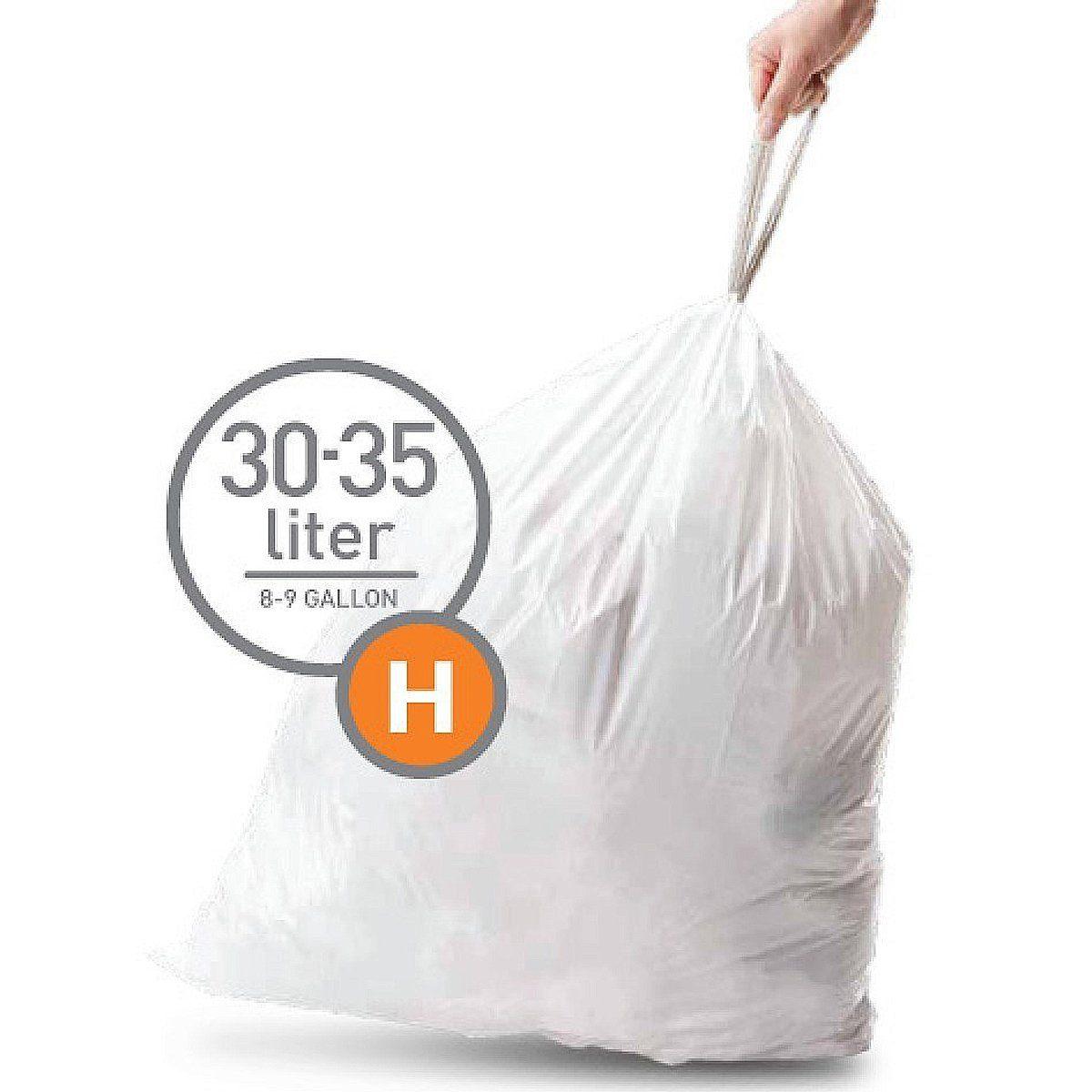 Simplehuman simplehuman 20 Abfallbeutel Müllbeutel H 30 l