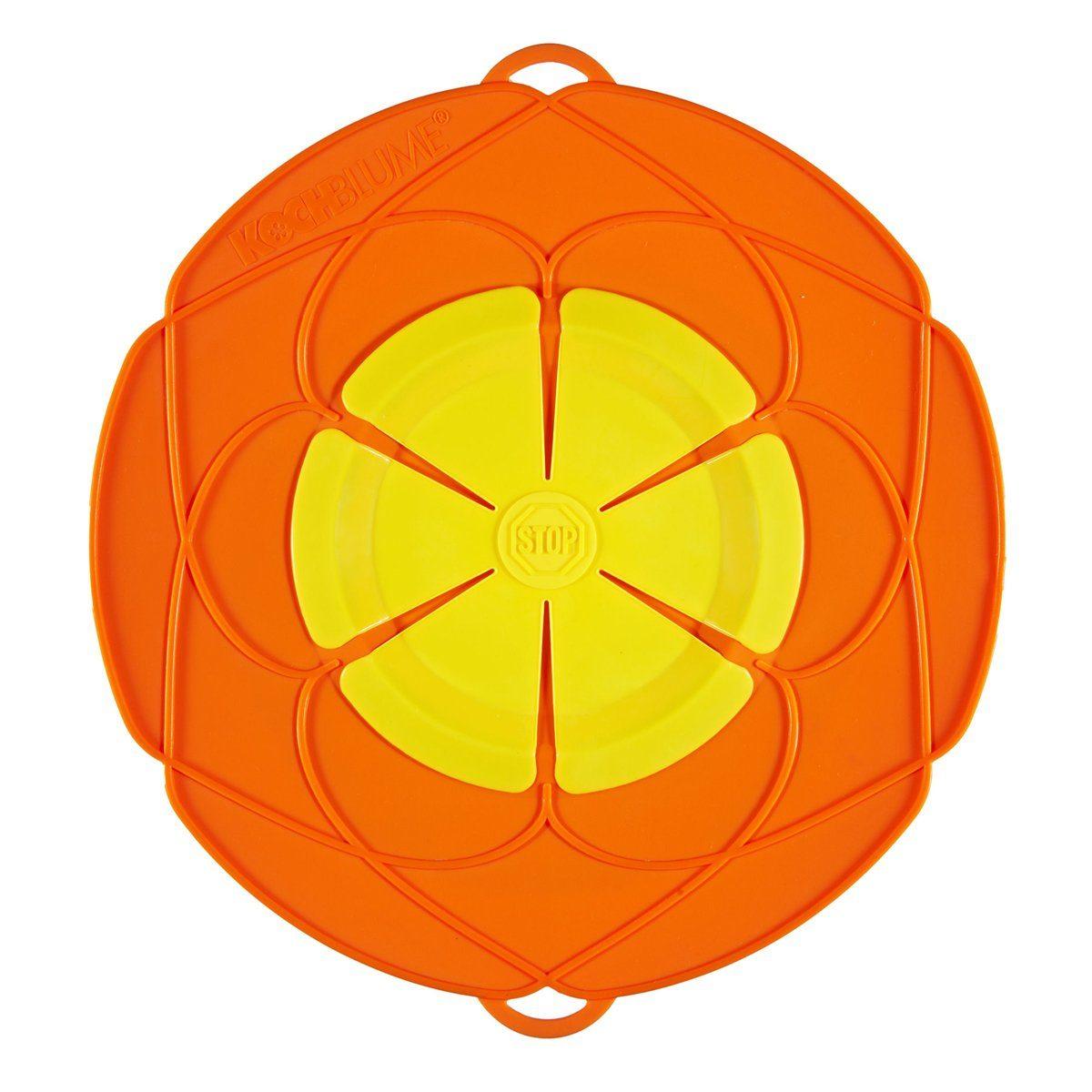 Kochblume Kochblume Überkochschutz orange 25.5 cm