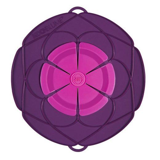Kochblume Kochblume Überkochschutz lila-pink 25.5 cm