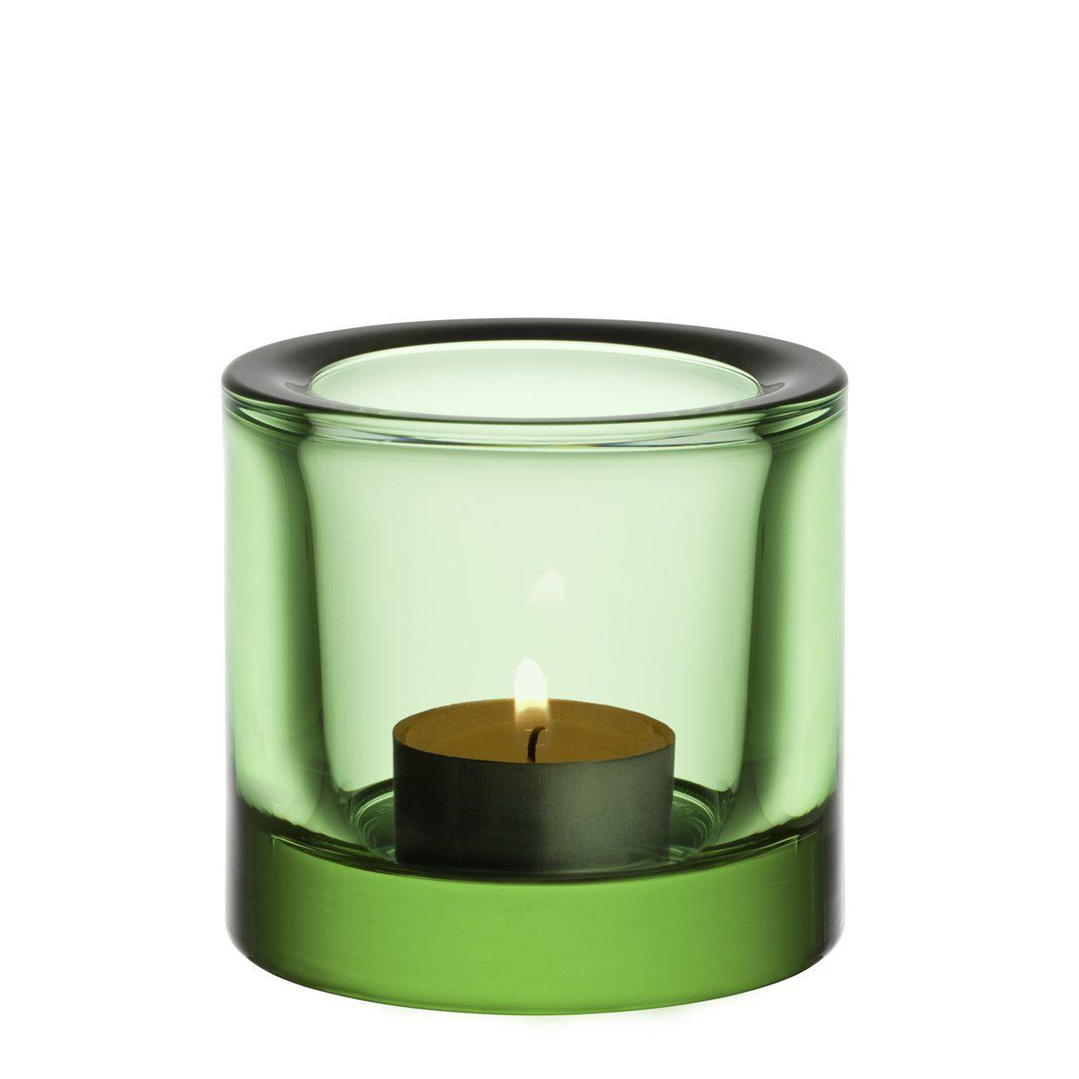 IITTALA Iittala Teelichthalter KIVI apfelgrün 6 cm